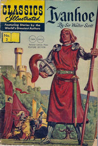 Cover Thumbnail for Classics Illustrated (Gilberton, 1947 series) #2 [HRN 136] - Ivanhoe [Twin Circle]
