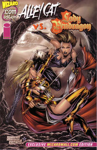 Cover Thumbnail for Alley Cat vs. Lady Pendragon.com (Wizard Entertainment, 1999 series)