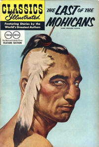 Cover Thumbnail for Classics Illustrated (Gilberton, 1947 series) #4 [HRN 150] - The Last of the Mohicans [Twin Circle]