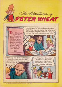 Cover Thumbnail for The Adventures of Peter Wheat (Peter Wheat Bread and Bakers Associates, 1948 series) #25