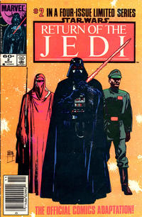 Cover Thumbnail for Star Wars: Return of the Jedi (Marvel, 1983 series) #2 [Newsstand Edition]
