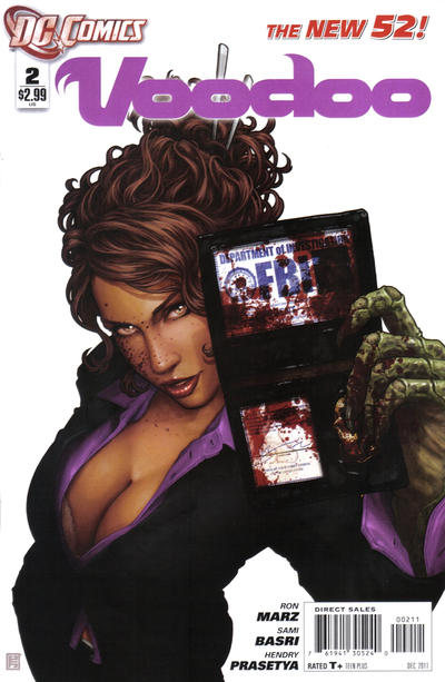 Cover for Voodoo (DC, 2011 series) #2