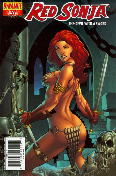 Cover for Red Sonja (Dynamite Entertainment, 2005 series) #37 [Cover A]