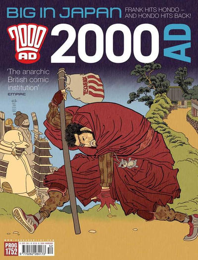 Cover for 2000 AD (Rebellion, 2001 series) #1752