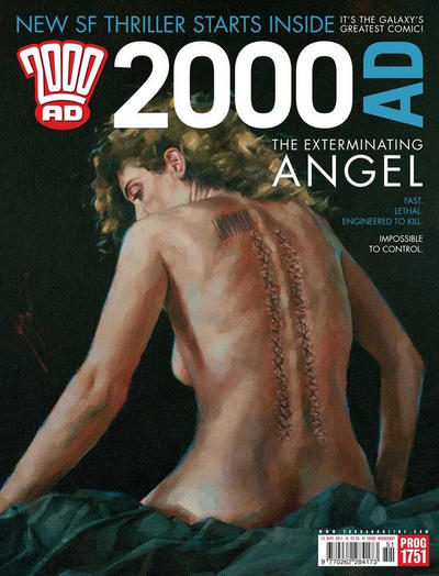 Cover for 2000 AD (Rebellion, 2001 series) #1751