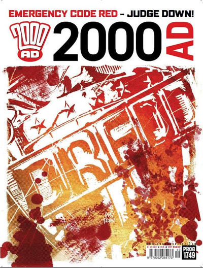 Cover for 2000 AD (Rebellion, 2001 series) #1749