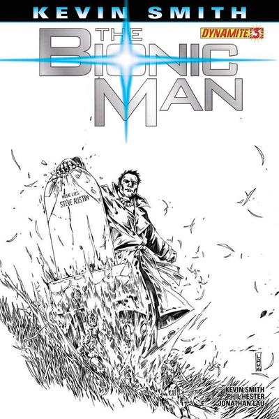 Cover for Bionic Man (Dynamite Entertainment, 2011 series) #3