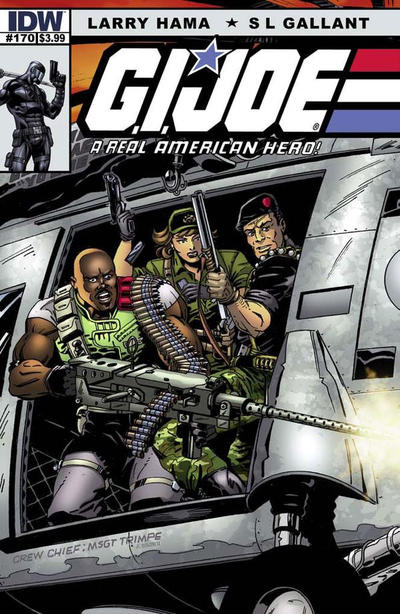Cover for G.I. Joe: A Real American Hero (IDW, 2010 series) #170
