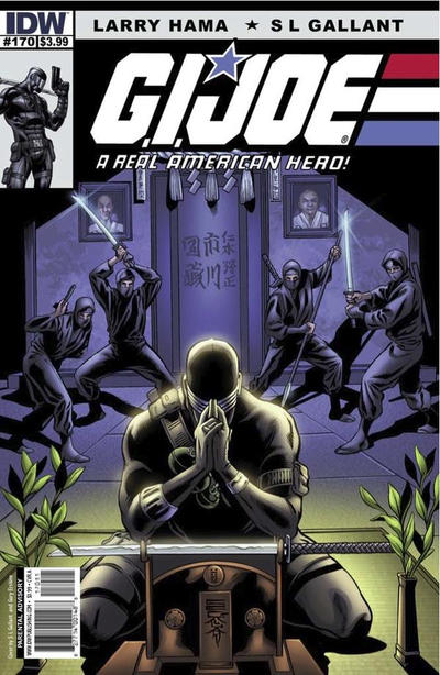 Cover for G.I. Joe: A Real American Hero (IDW, 2010 series) #170 [Cover B]