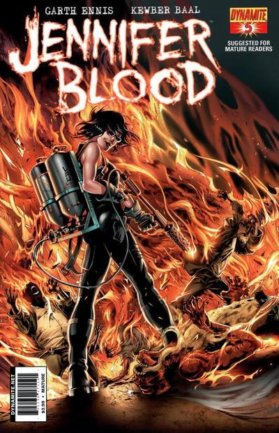 Cover for Jennifer Blood (Dynamite Entertainment, 2011 series) #5