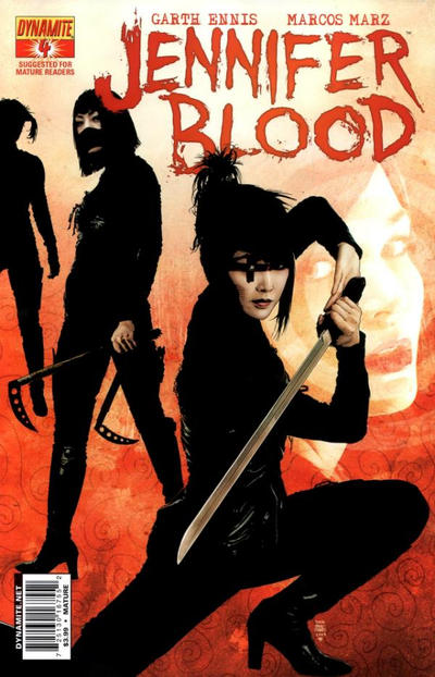 Cover for Jennifer Blood (Dynamite Entertainment, 2011 series) #4