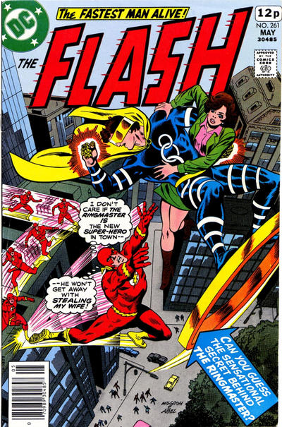 Cover for The Flash (DC, 1959 series) #261 [Pence Variant]