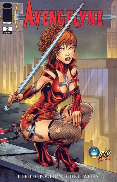 Cover for Avengelyne (Image, 2011 series) #2