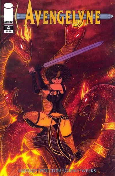 Cover for Avengelyne (Image, 2011 series) #4