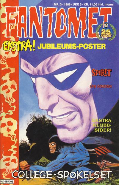 Cover for Fantomet (Semic, 1976 series) #3/1988