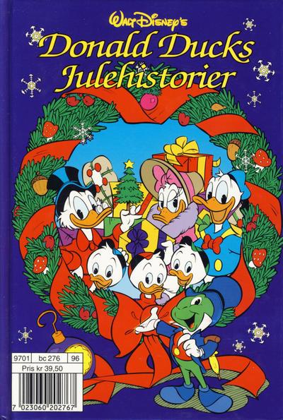 Cover for Donald Ducks julehistorier (Hjemmet / Egmont, 1996 series) #[1996]