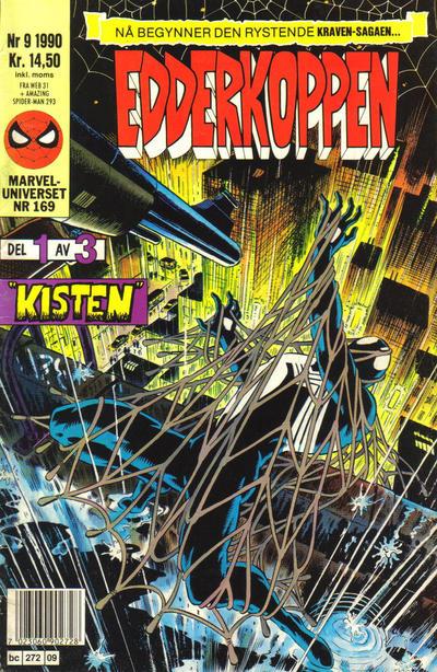 Cover for Edderkoppen (Semic, 1984 series) #9/1990