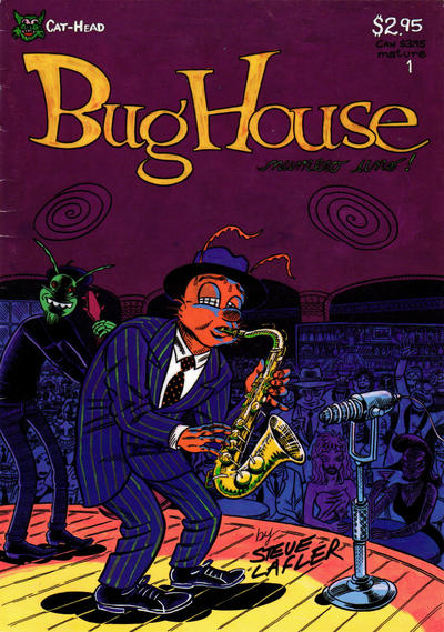 Cover for Bughouse (Cat-Head Comics, 1994 series) #1