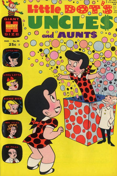 Cover for Little Dot's Uncles and Aunts (Harvey, 1961 series) #36