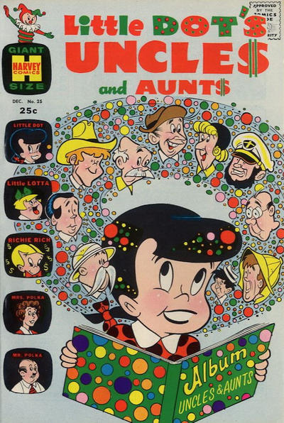 Cover for Little Dot's Uncles and Aunts (Harvey, 1961 series) #25