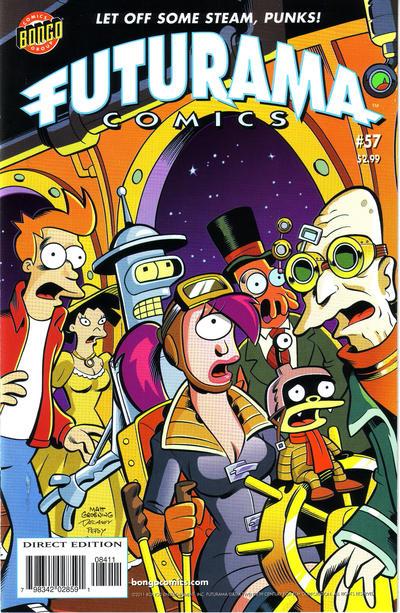 Cover for Bongo Comics Presents Futurama Comics (Bongo, 2000 series) #57