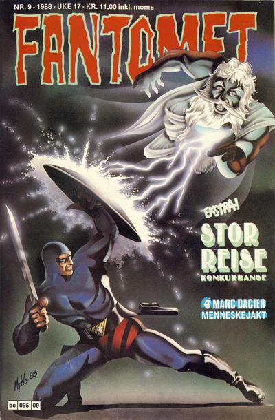 Cover for Fantomet (Semic, 1976 series) #9/1988