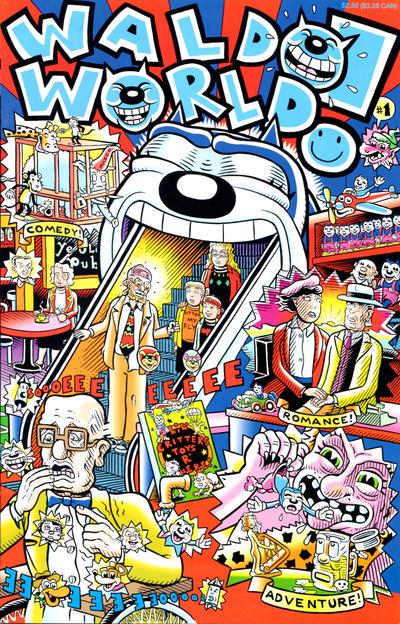Cover for Waldo World (Fantagraphics, 1994 series) #1