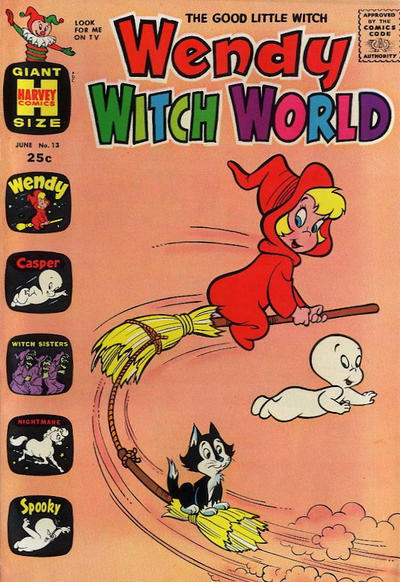 Cover for Wendy Witch World (Harvey, 1961 series) #13