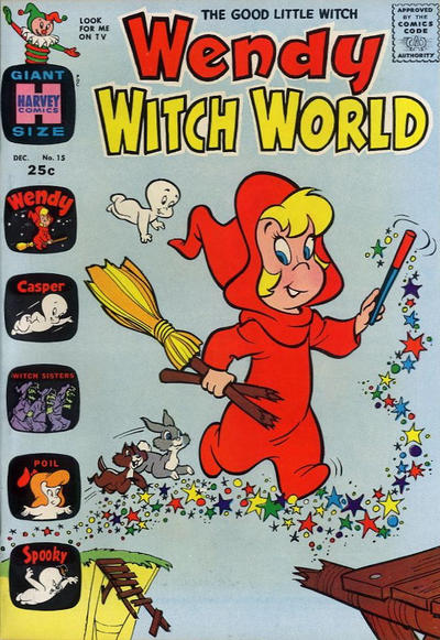 Cover for Wendy Witch World (Harvey, 1961 series) #15