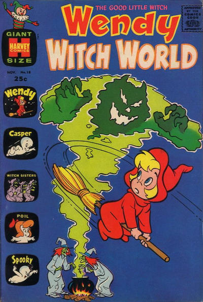 Cover for Wendy Witch World (Harvey, 1961 series) #18