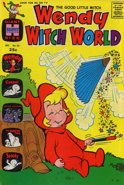 Cover for Wendy Witch World (Harvey, 1961 series) #22