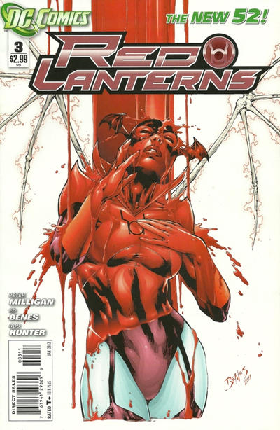 Cover for Red Lanterns (DC, 2011 series) #3