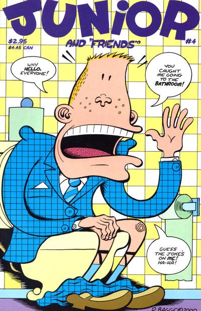 Cover for Junior (Fantagraphics, 2000 series) #4