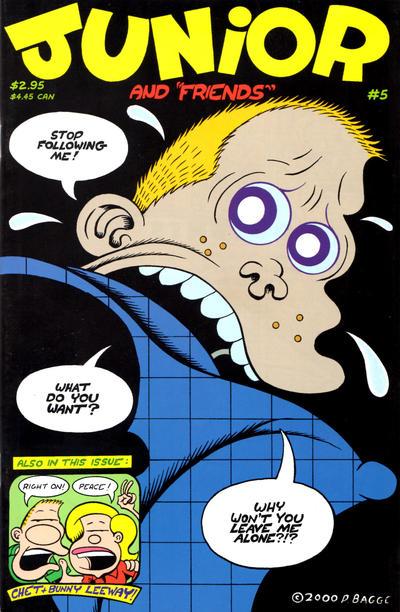 Cover for Junior (Fantagraphics, 2000 series) #5