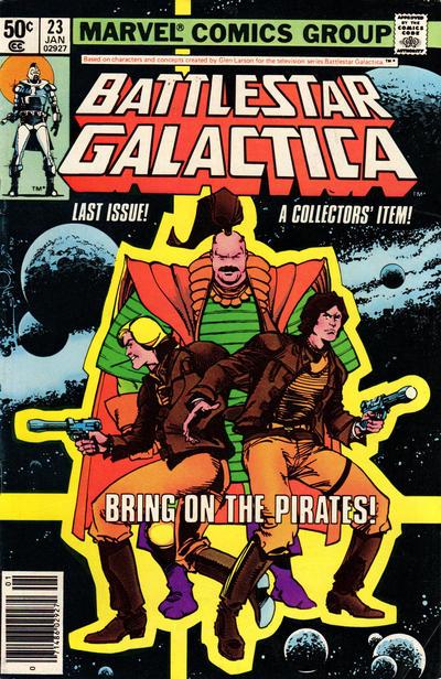 Cover for Battlestar Galactica (Marvel, 1979 series) #23