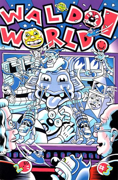 Cover for Waldo World (Fantagraphics, 1994 series) #3