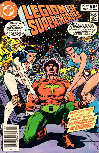 Cover for The Legion of Super-Heroes (DC, 1980 series) #275 [Direct]