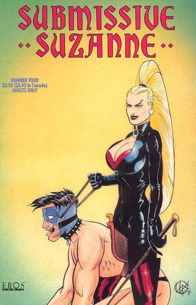 Cover for Submissive Suzanne (Fantagraphics, 1991 series) #4