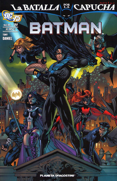 Cover for Batman (Planeta DeAgostini, 2007 series) #31