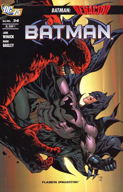 Cover for Batman (Planeta DeAgostini, 2007 series) #34