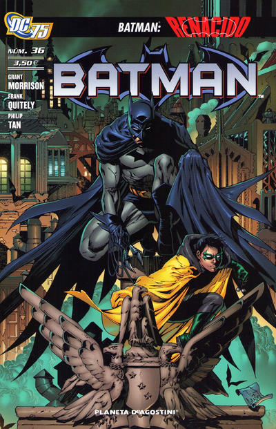 Cover for Batman (Planeta DeAgostini, 2007 series) #36