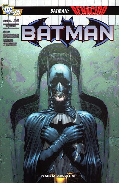 Cover for Batman (Planeta DeAgostini, 2007 series) #38
