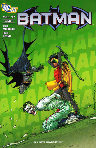Cover for Batman (Planeta DeAgostini, 2007 series) #41