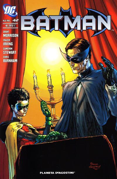 Cover for Batman (Planeta DeAgostini, 2007 series) #42