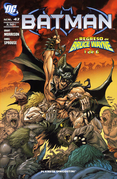 Cover for Batman (Planeta DeAgostini, 2007 series) #43