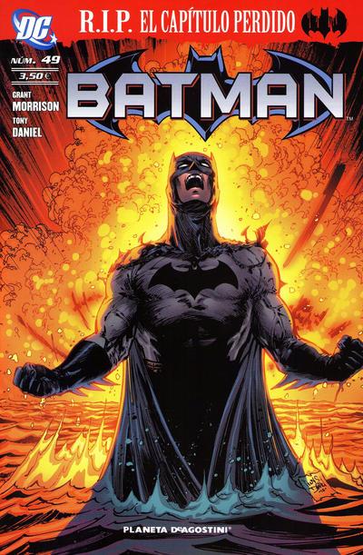 Cover for Batman (Planeta DeAgostini, 2007 series) #49
