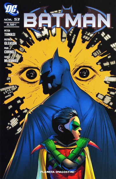 Cover for Batman (Planeta DeAgostini, 2007 series) #53