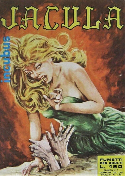 Cover for Jacula (Ediperiodici, 1969 series) #20