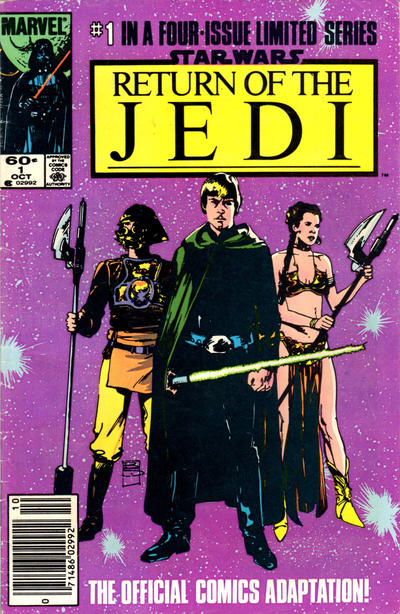 Cover for Star Wars: Return of the Jedi (Marvel, 1983 series) #1