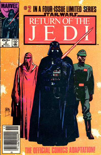 Cover for Star Wars: Return of the Jedi (Marvel, 1983 series) #2